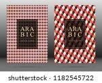 turkish pattern vector cover...   Shutterstock .eps vector #1182545722