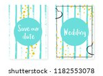 gold glitter sequins with dots. ... | Shutterstock .eps vector #1182553078