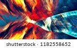 abstract flame background.... | Shutterstock . vector #1182558652