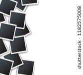 photo border isolated white... | Shutterstock .eps vector #1182575008