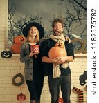 Halloween Couple In Love...