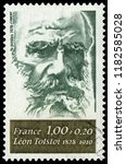 837 paris  france   1978  leo... | Shutterstock . vector #1182585028