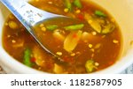 stewed dolly fish with lemon | Shutterstock . vector #1182587905