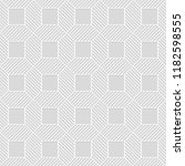 seamless pattern of squares and ... | Shutterstock .eps vector #1182598555