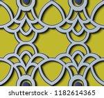 seamless relief sculpture... | Shutterstock .eps vector #1182614365