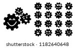 cogwheel gear mechanism face... | Shutterstock .eps vector #1182640648