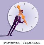 businessman office worker... | Shutterstock .eps vector #1182648238
