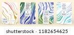modern marble cover design for... | Shutterstock .eps vector #1182654625