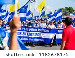 Small photo of Protest in Managua Nicaragua on August 18th 2018. Reason: President Ortega is imprisoning hundreds of citizens in Nicaragua due a social-political crisis which started on April 18th, 2018.
