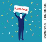 winner  successful business.... | Shutterstock .eps vector #1182688438