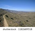 pacific crest trail wandering...   Shutterstock . vector #1182689518
