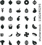 solid black flat icon set... | Shutterstock .eps vector #1182690295