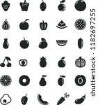 solid black flat icon set peper ...   Shutterstock .eps vector #1182697255
