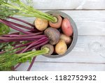fresh vegetables on a white... | Shutterstock . vector #1182752932