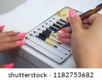 instruments  beauty and fashion ... | Shutterstock . vector #1182753682