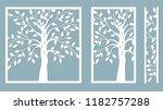 laser cut. vector design. laser ... | Shutterstock .eps vector #1182757288