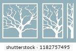 laser cut. vector design. laser ... | Shutterstock .eps vector #1182757495