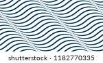 waves seamless pattern  vector... | Shutterstock .eps vector #1182770335