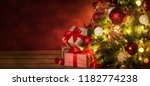 christmas and new year holidays ... | Shutterstock . vector #1182774238