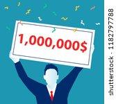 winner  successful business.... | Shutterstock .eps vector #1182797788