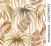 seamless pattern of exotic... | Shutterstock .eps vector #1182798922