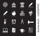 education icons set 2. vector...