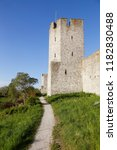 tower in the visby city wall... | Shutterstock . vector #1182830488