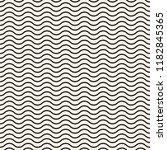 horizontal wavy lines seamless... | Shutterstock .eps vector #1182845365