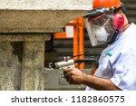 sao paulo  brazil  march 10 ... | Shutterstock . vector #1182860575