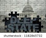 deep state american politics... | Shutterstock . vector #1182865732