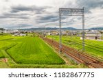 summer in the nara countryside  ... | Shutterstock . vector #1182867775