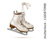 vector realistic white figure... | Shutterstock .eps vector #1182873988
