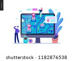 business series  color 2  ... | Shutterstock .eps vector #1182876538