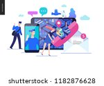 business series  color 2  ... | Shutterstock .eps vector #1182876628