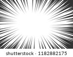 comic book radial lines... | Shutterstock . vector #1182882175