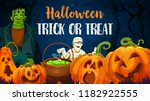 halloween holiday trick or... | Shutterstock .eps vector #1182922555