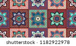 talavera pattern.  indian... | Shutterstock .eps vector #1182922978