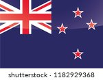 an illustrated glossy country... | Shutterstock . vector #1182929368