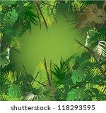 tropical landscape  tropical... | Shutterstock .eps vector #118293595