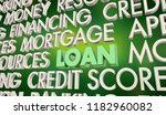 loan borrow money credit... | Shutterstock . vector #1182960082