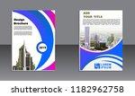 business brochure vector design.... | Shutterstock .eps vector #1182962758