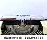 techpreneur  technology... | Shutterstock . vector #1182966715