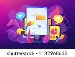 front end development it... | Shutterstock .eps vector #1182968632