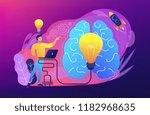 brainstorm concept vector... | Shutterstock .eps vector #1182968635