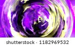 closeup of colorful abstract... | Shutterstock . vector #1182969532