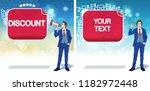 discount advertisement concept... | Shutterstock .eps vector #1182972448
