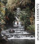 hot springs in costa rica | Shutterstock . vector #1183008772
