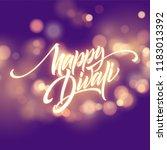happy diwali festival bright.... | Shutterstock .eps vector #1183013392