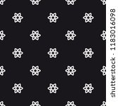 vector seamless pattern.... | Shutterstock .eps vector #1183016098