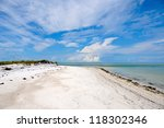 Beautiful Coastline on Anna Maria Island, Florida